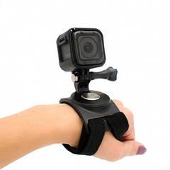AC Prof крепление для GoPro на руку или ногу поворотное