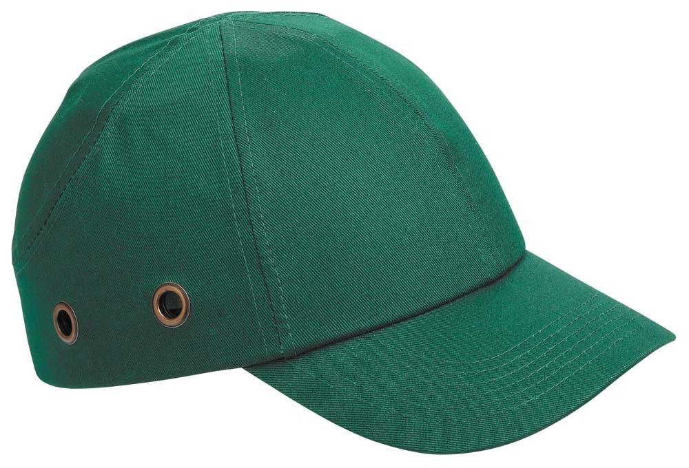 Каска - бейсболка (каскетка) защитная Duiker зеленая