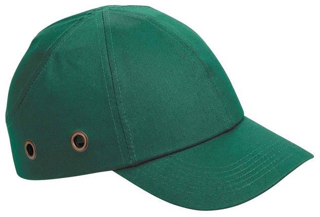 Каска - бейсболка (каскетка) защитная Duiker зеленая, фото 2