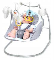 Электрическое кресло-качалка Kinderkraft MINKY 2-в-1