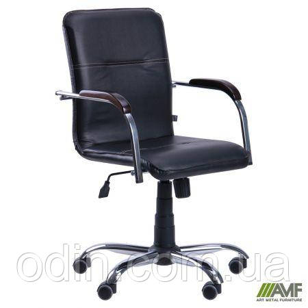 Кресло Самба-RC Хром белый Неаполь N-34 без канта 342756