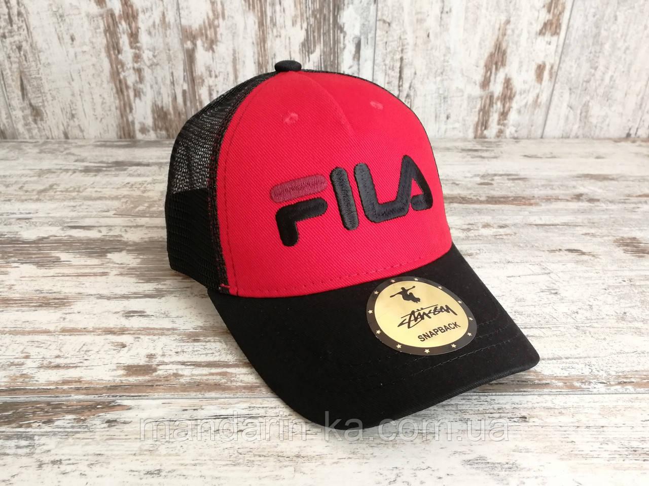 Кепка бейсболка блайзер снепбек Fila Фила топ качество цвета в ассортименте (реплика)