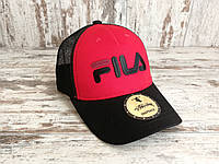 Кепка бейсболка блайзер снепбек Fila Фила топ качество цвета в ассортименте (реплика), фото 1