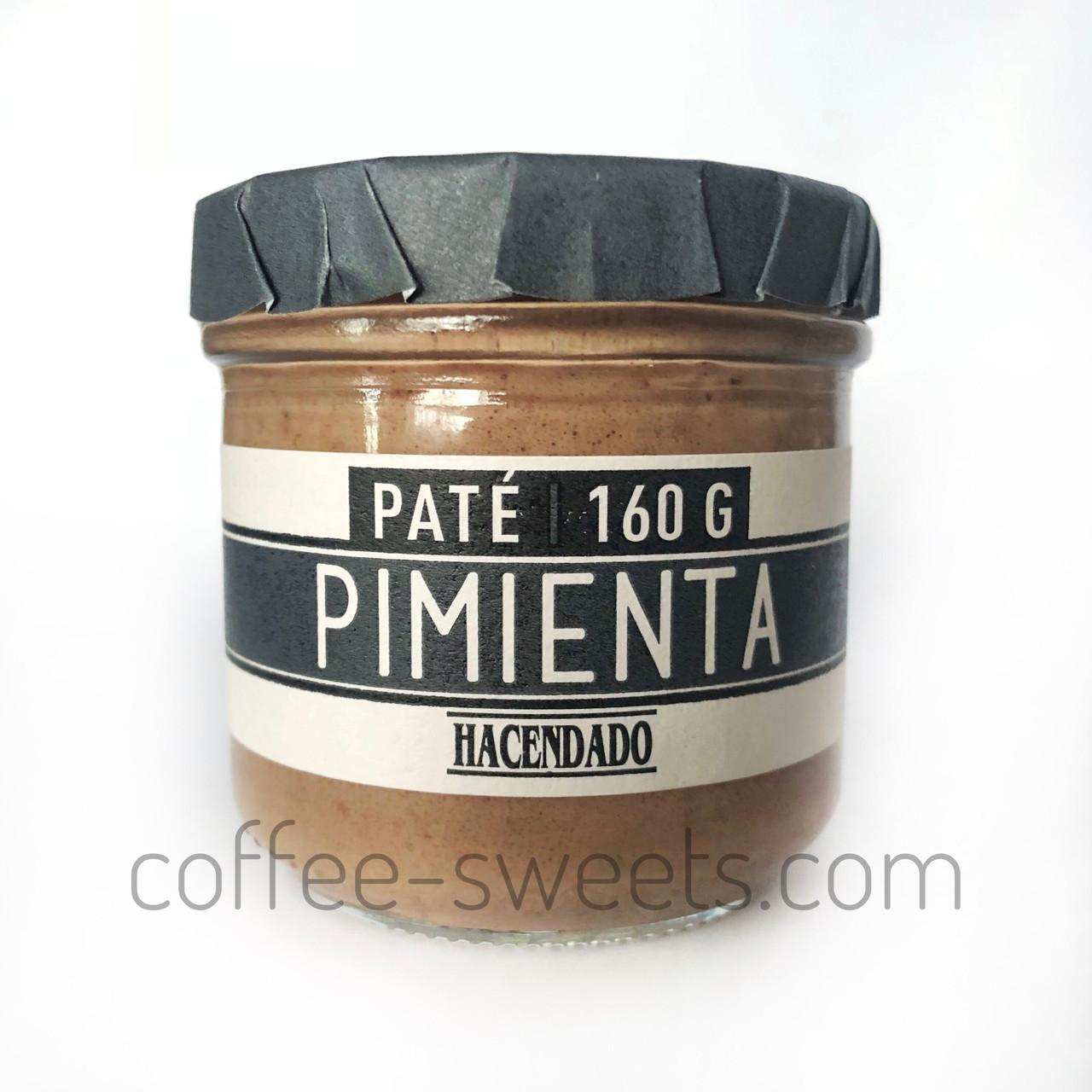 Паштет Hacendado Pate Pimienta (с добавлением черного перца) 160 g
