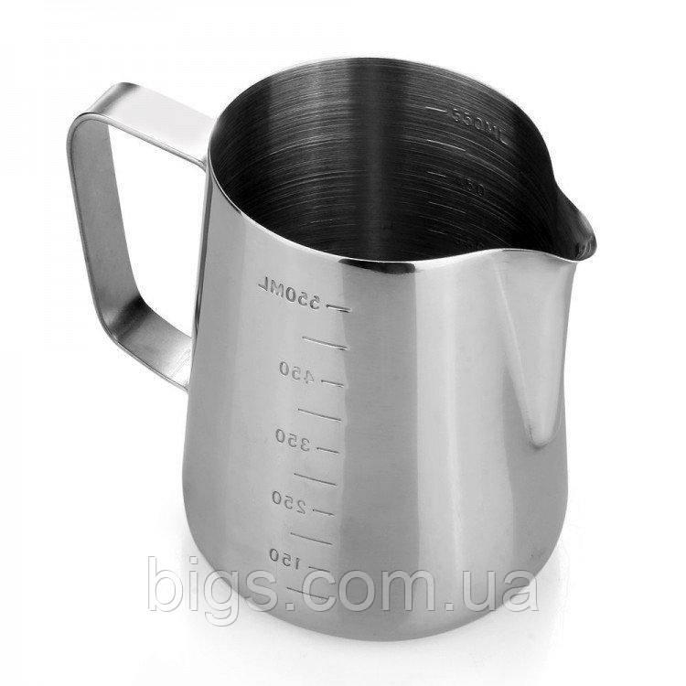 Питчер-молочник металлический Мера 600 мл ( джаг )