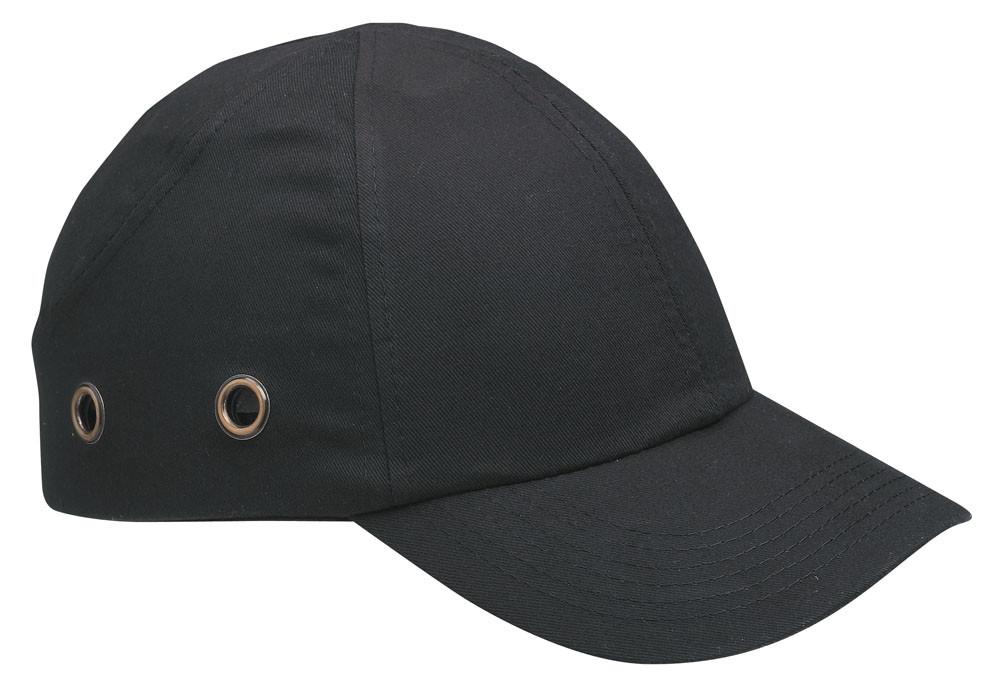 Каска - бейсболка (каскетка) защитная Duiker черная