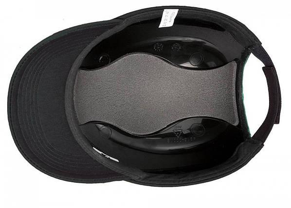Каска - бейсболка (каскетка) защитная Duiker черная, фото 2