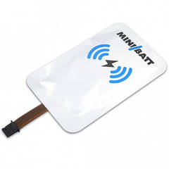 Qi ресивер MiniBatt Lightning для беспроводной зарядки iPhone