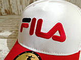 Кепка бейсболка блайзер снепбек  Fila Фила топ качество цвета в ассортименте (реплика), фото 2