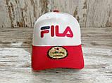 Кепка бейсболка блайзер снепбек  Fila Фила топ качество цвета в ассортименте (реплика), фото 3