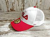 Кепка бейсболка блайзер снепбек  Fila Фила топ качество цвета в ассортименте (реплика), фото 4