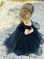 Бархатное детское платье, фото 2