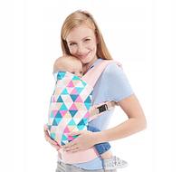 Переноска для ребенка Kinderkraft NINO (розовый цвет)