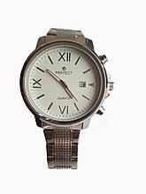 Часы кварцевые Perfect 0621 на браслете с датой