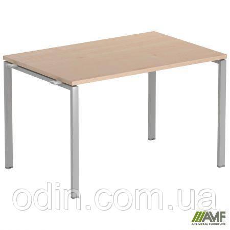 Стол прямой SIG 104 1200х800х750мм Клен Танзау 60х30 Алюм 179425