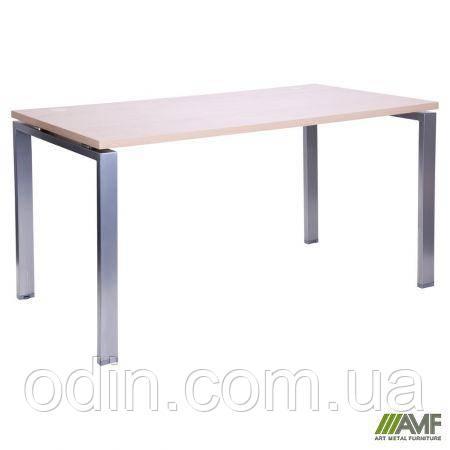 Стол прямой SIG 103 1600х800х750мм Клен Танзау 60х30 Алюм 179390