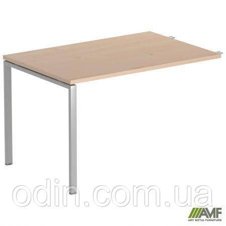Стол приставной SIG 107 1200х800х750мм Клен Танзау 60х30 Алюм 179544