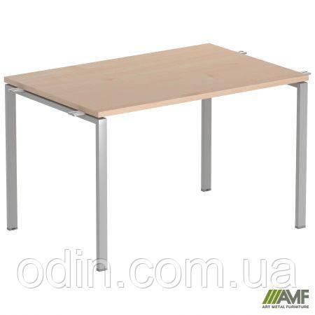 Стол прямой SIG 105 1600х800х750мм Клен Танзау 60х30 Алюм 202050