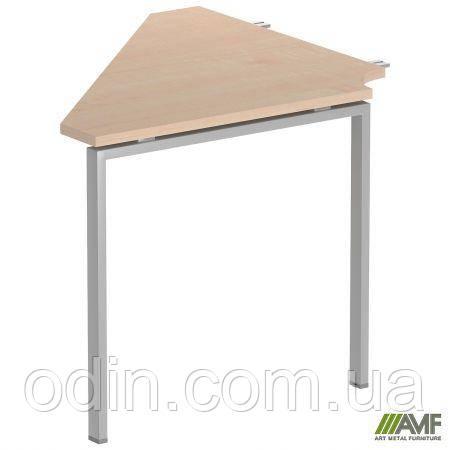 Стол сегмент SIG 113 800х800х750мм Клен Танзау 60х30 Алюм 179672