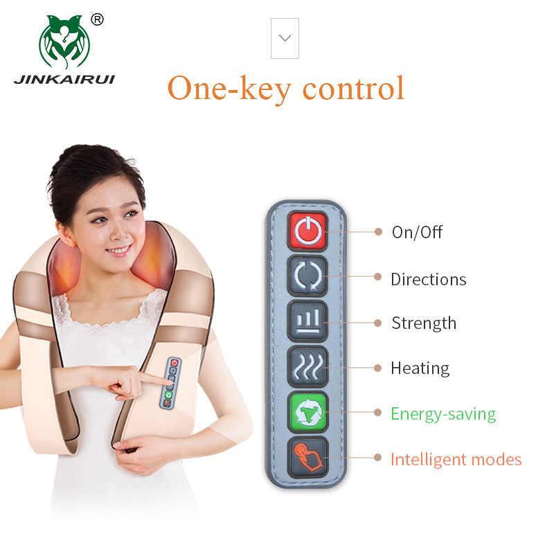 Электрический Массажер для шеи, плеч, спины и поясницы 6 кнопок ! Улутшеный!