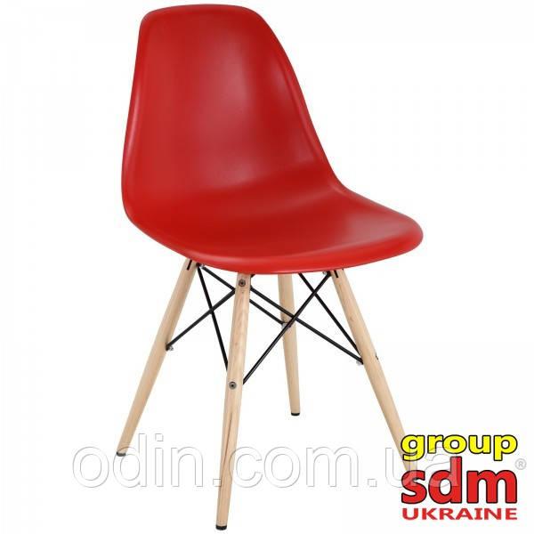 Стул Тауэр Вуд, пластиковый, цвет красный SDM16WRE