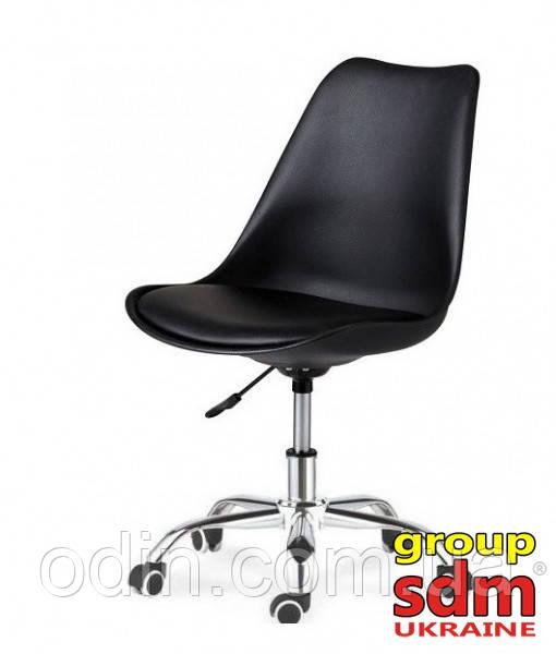 Кресло на колесах Астер, сиденье с подушкой, цвет черный AsterBl