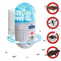 Лампы от мух и комаров, лампа против комаров, лампа от комаров для дома (уничтожитель насекомых) Atomic Zabber