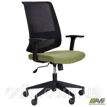 Кресло Carbon LB черный/зеленый 521190