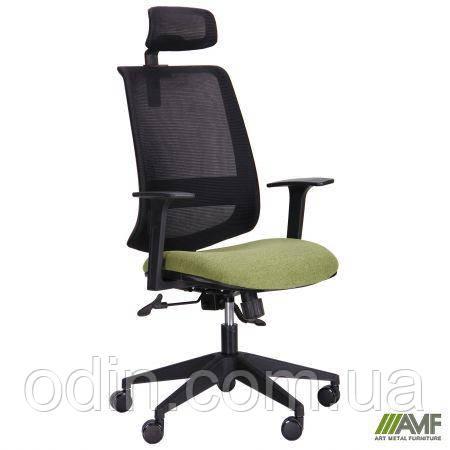 Кресло Carbon HB черный/зеленый 521192