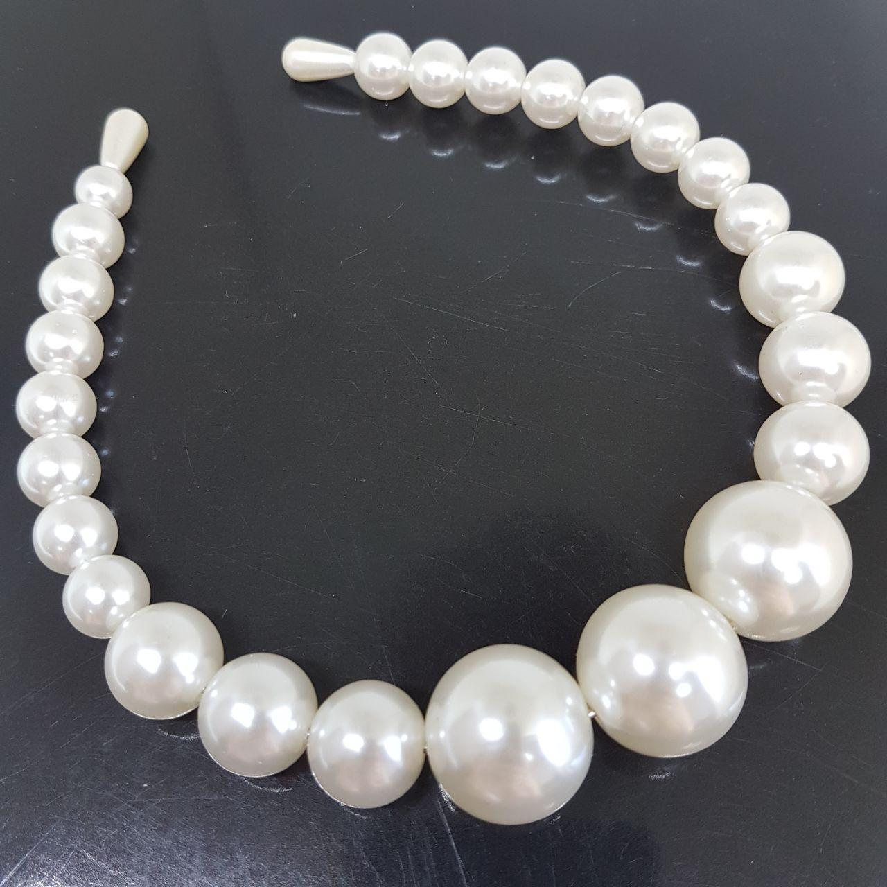 Украшение-ободок для волос Жемчужинки Madium (Vtnm-obod-pearl-m)