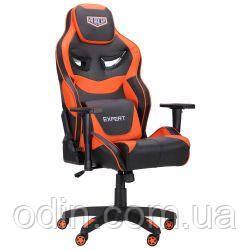 Кресло VR Racer Expert Genius черный/оранжевый 521173