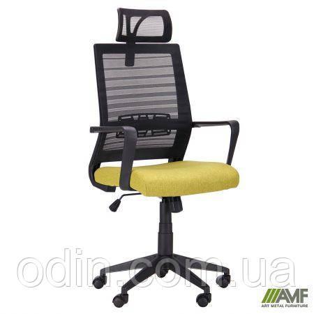 Кресло Radon черный/оливковый 521182
