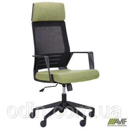 Кресло Twist black черный/зеленый 521187