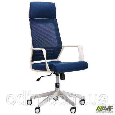 Кресло Twist white синий 521186
