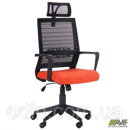 Кресло Radon черный/оранжевый 521181