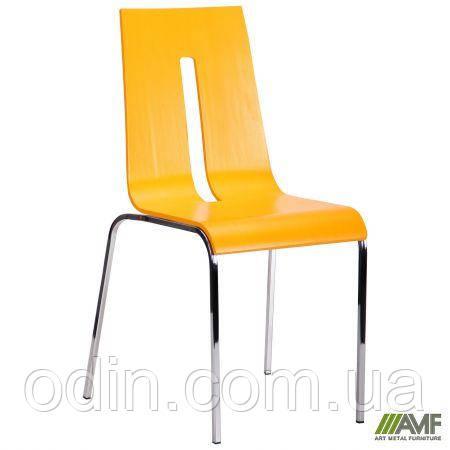 Стілець Порто хром колір RAL 1028 жовтий 288147