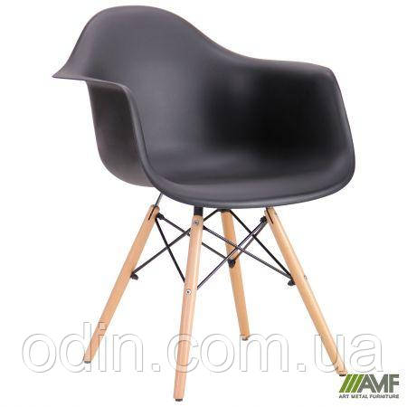 Кресло Salex PL Wood Черный 520663