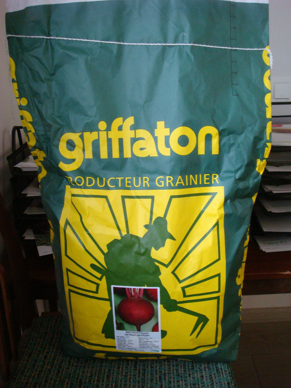 Семена свеклы Детройт 5 кг Griffaton
