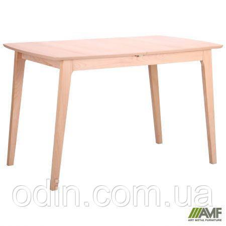 Стол обеденный раздвижной Конте бук беленый 521479