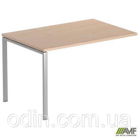 Стол прямой SIG 106 1392х800х750мм Клен Танзау 60х30 Алюм 179508