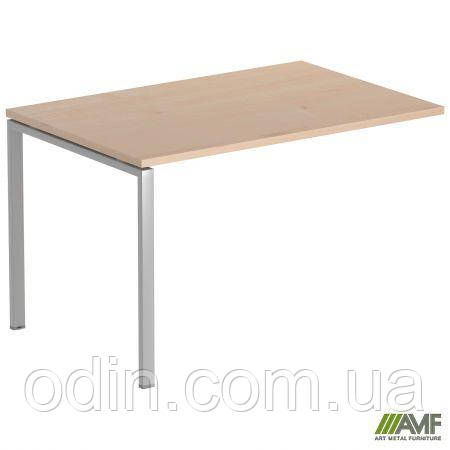 Стол прямой SIG 106 1200х800х750мм Клен Танзау 60х30 Алюм 179496