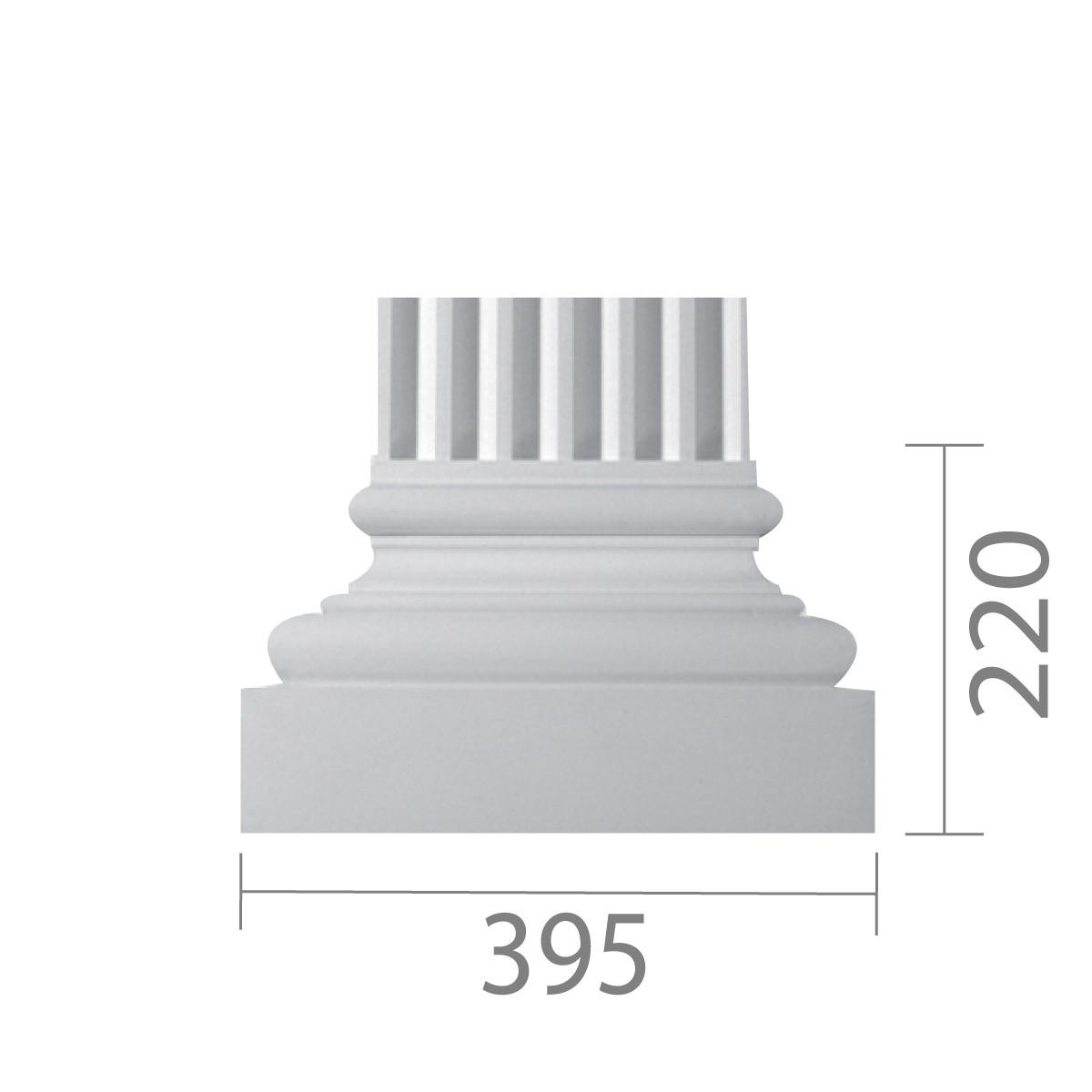 База пилястры б-20