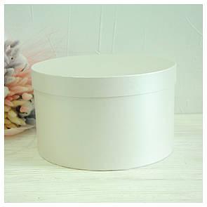 Шляпная круглая коробка d= 25 h=15 см