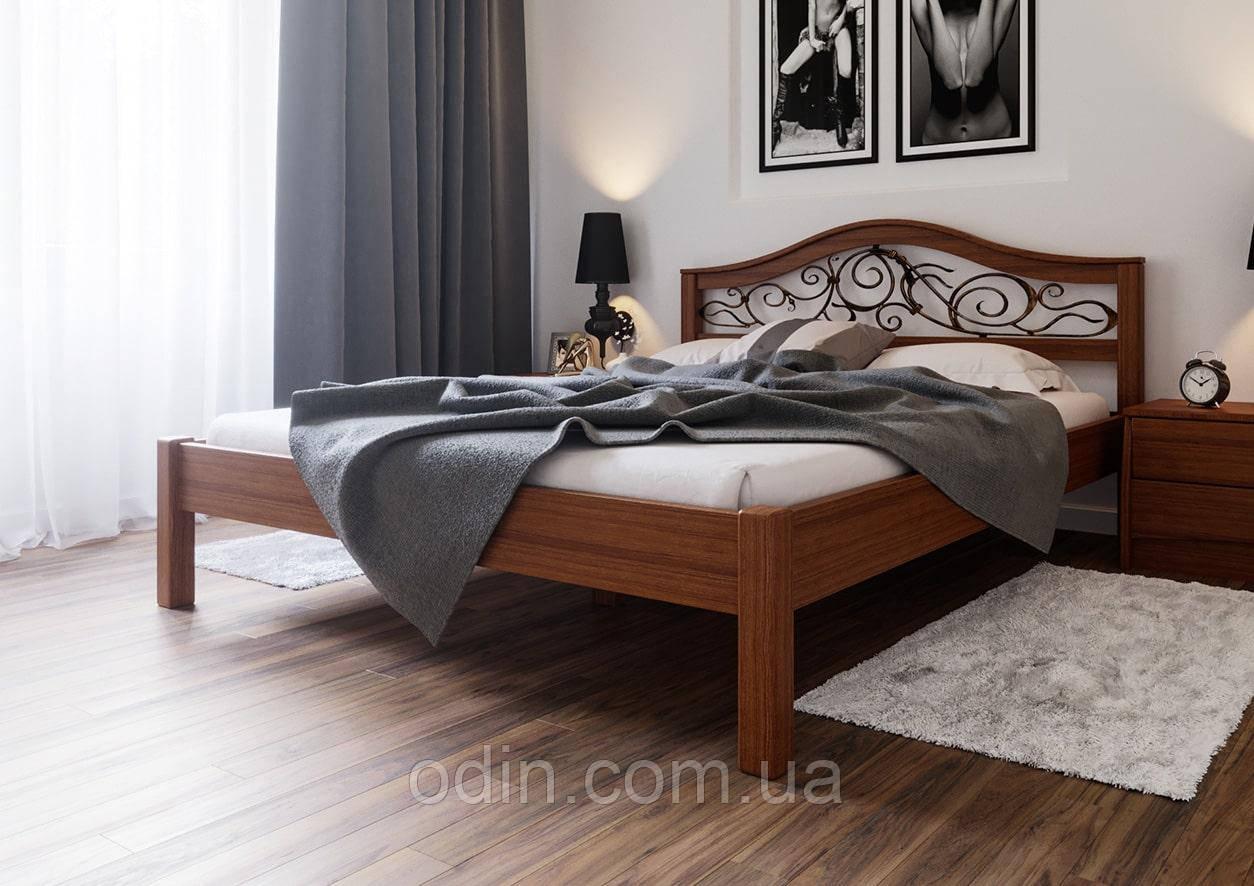Кровать Италия ковка ЧДК