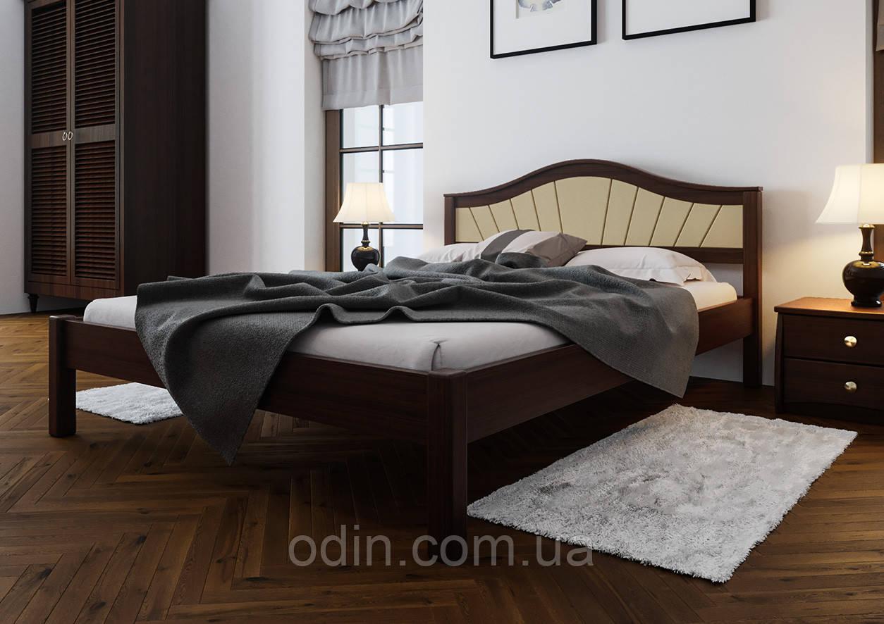 Кровать Италия мягкое изголовье ЧДК