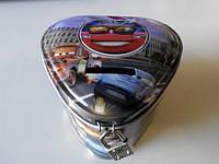 Металические копилки сердце с изображением любимых мультгероев