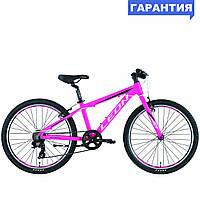 """Велосипед 24"""" Leon JUNIOR RIGID 2019 (розовый)"""