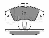Meyle 025 215 7620 Колодки тормозные передние MB Sprinter (Германия)