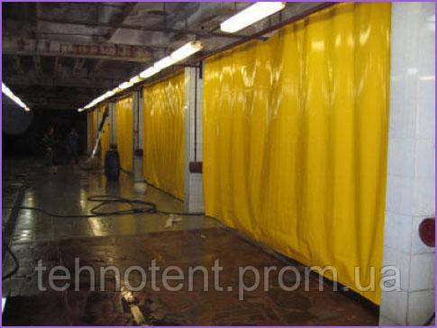 Защитные шторы из ПВХ и брезента под заказ