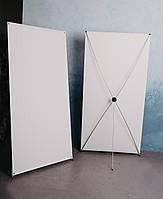 Мобильный стенд Х-баннер паук 190*200 см с печатью